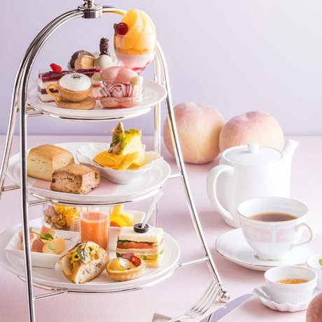 Peach Afternoon Tea