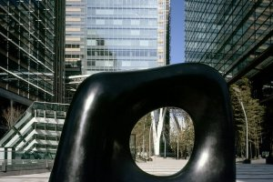 There are numerous permanent outdoor sculptures at Tokyo Midtown, too!