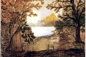 An example of Grandma Moses' artwork