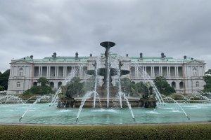 Akasaka Palace fountain