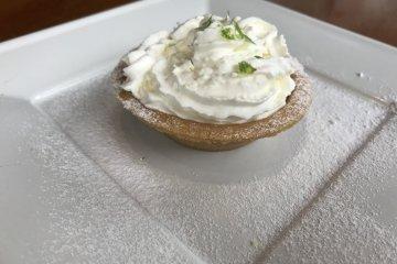 Homemade key lime pie!