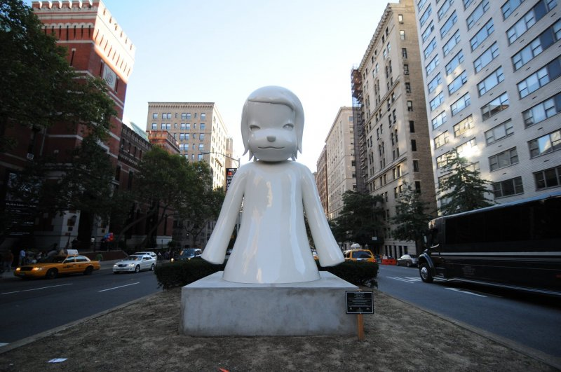 Yoshitomo Nara is one of the artists whose works will be displayed at the event.