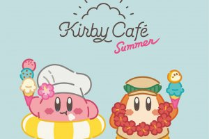 Kirby fans can enjoy 2 themed cafe events this summer
