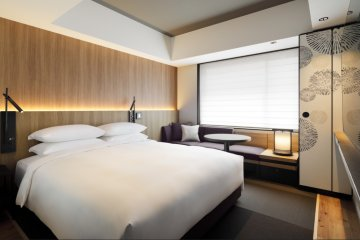 Bedroom in Hiyori Chapter Kyoto Tribute Portfolio Hotel