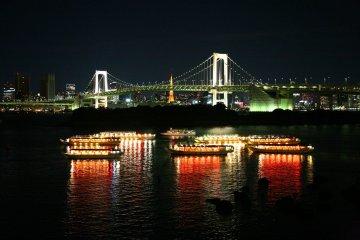 Yakatabune Experience in Shinagawa