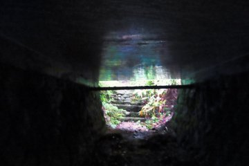 Tunnel along the Tokaido Road