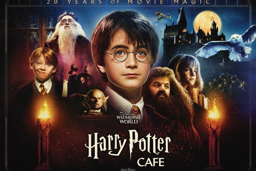 The event celebrates the 20th anniversary of the movie release of Harry Potter and the Philosopher\'s Stone