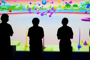 Fishing in the virtual Colors Lake