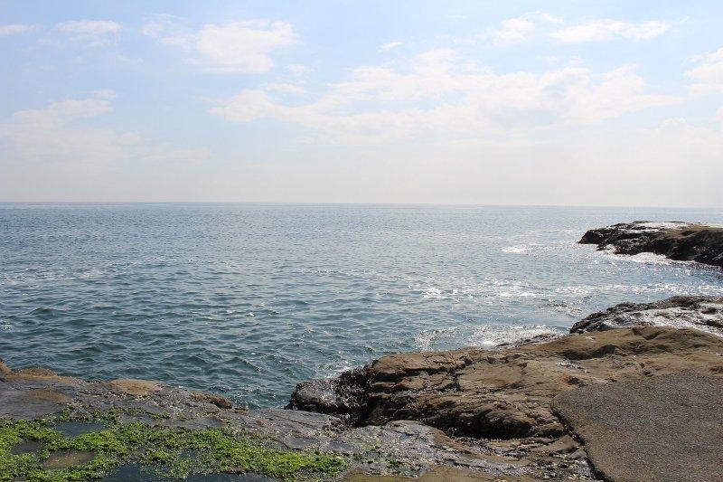 Залив Сагами в Эносиме