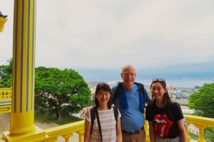 Miwa, Rey and Emi at Old Public Hall