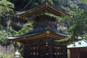 Nagoji Temple's pagoda