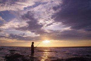 Fishing at Sunosaki
