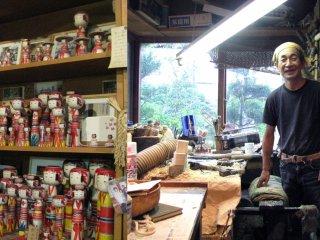 The workshop of Niiyama Mayumi