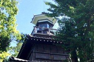 The historic Tomyodai lighthouse