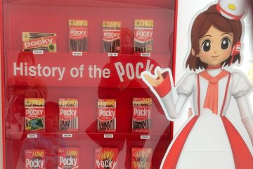 Visiting the Glico Pia East Factory
