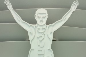 The Iconic Running Man at Glico Pia East.