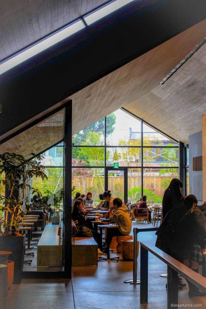 Inside the Kanetsuki Starbucks, Kawagoe