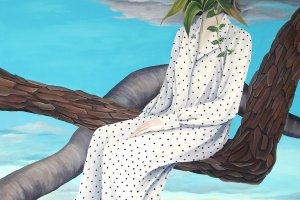 Enomoto's works take on a surrealist style