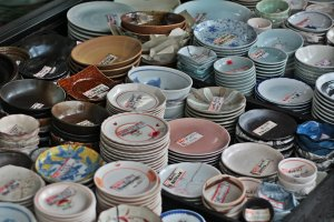 Need new dishware? Kappabashi has you covered!