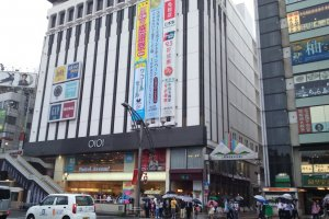 Ueno Marui is a chic complex with a wide variety of shopping and dining options