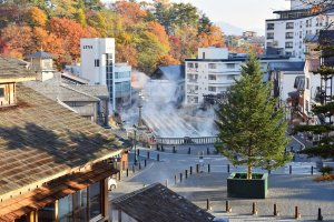 Kusatsu Onsen is touted as one of Japan's best onsen destinations