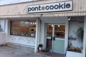 Pont Cookie is a very small Parisian style bakery along Route 16 in Okinawa City