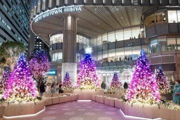 Hibiya Magic Time Illumination 2021