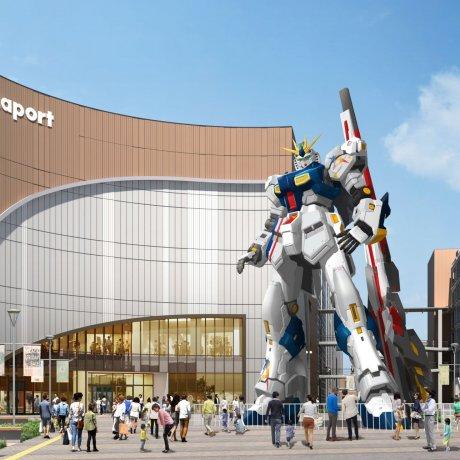 Gundam Landing in Fukuoka
