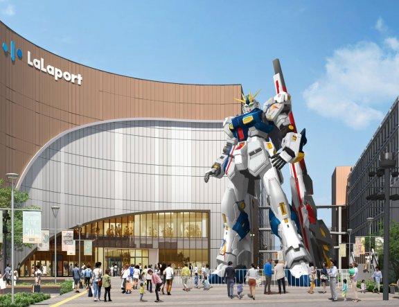 Gundam Landing in Fukouka