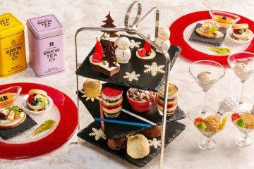 British Christmas Afternoon Tea