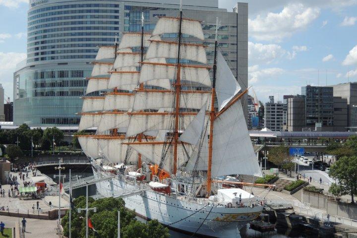 The Nippon-maru, Sail Exhibit