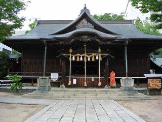 Yobashira Shrine in Matsumoto