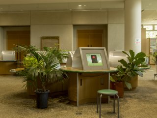 This interactive area also facilitates the study of botany