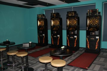 <p>Darts are on the fifth and second floors</p>