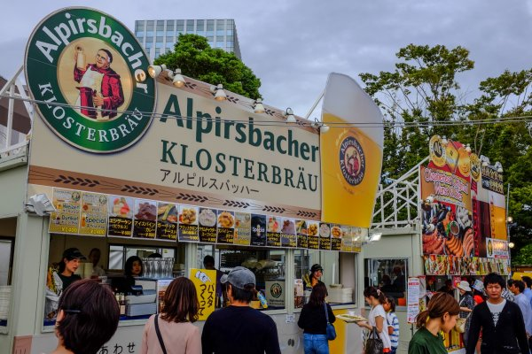 All the big names from Germany were at this year\'s event. The challenge was trying to sample them all