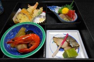 Shookadoo Bento at the restaurant Sasagawa