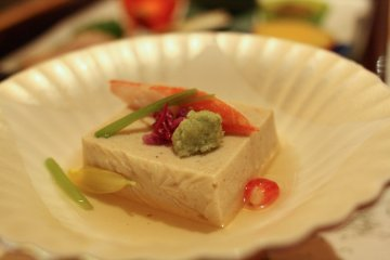 One of the great appetizers at Tanigawa