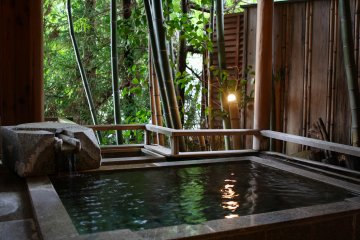 Immerse yourself with Tanigawa's private onsen by your bedroom