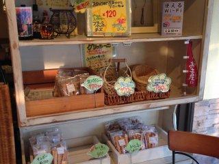 Beberapa di antara semua jenis roti yang dipanggang di La Mer