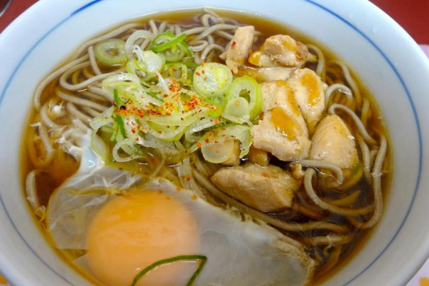A cheap, yummy, healthy, quick bowl of soba!