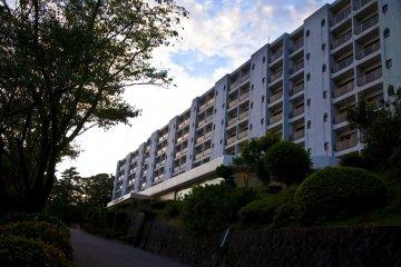 The exterior of Hotel Kirishima Castle
