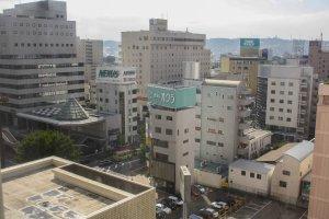 Quang cảnh thành phố từ trên nhìn xuống