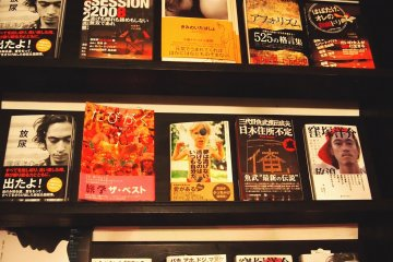 <p>I prefer the non-manga shelf. Self-motivation or travel books are visually appealing and an easy read for a laid-back time.</p>