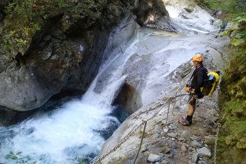 Canyoning Adventure in Yamanashi