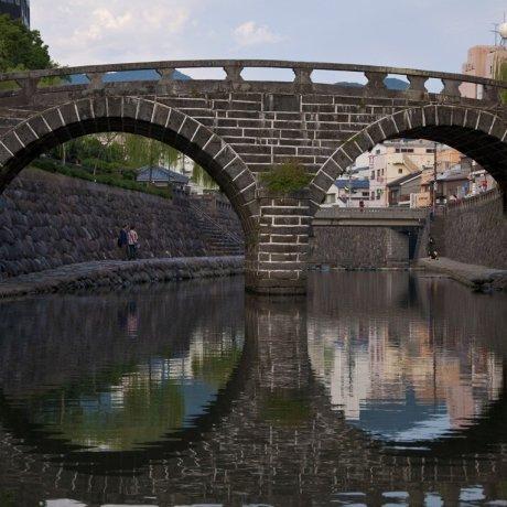Megane-bashi, Nagasaki