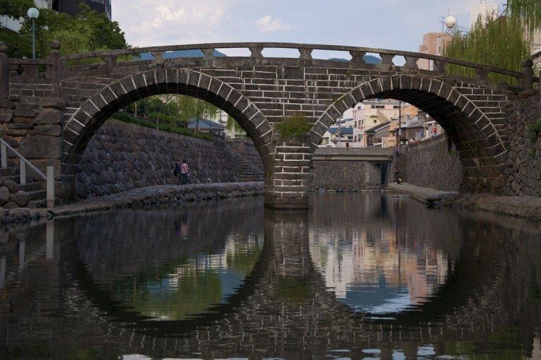 Megane-bashi à Nagasaki