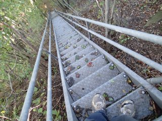 Just a few stairs