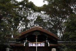 本殿。京都の町中なのにとても静かだ