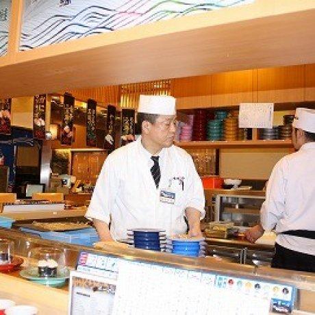 金沢・近江町市場「もりもり寿司」