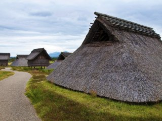 "Minami-no-mura (South Village): This is the area where ordinary people called ""geko"" lived."